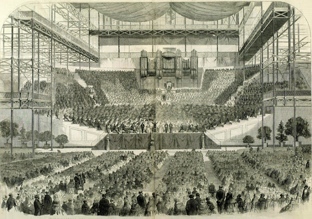 The Handel Festival at The Crystal Palace, 1857