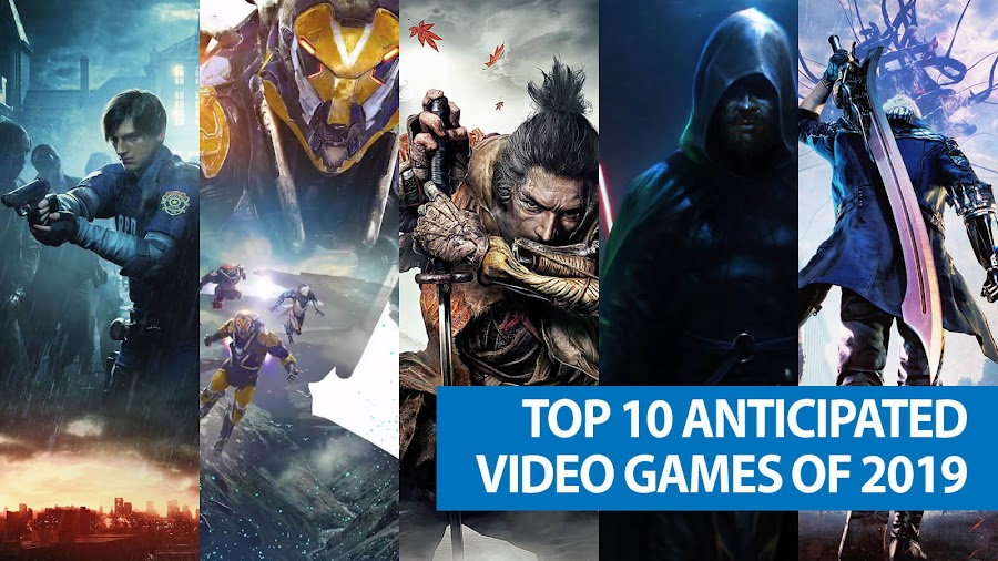 top 10 most anticipated video games 2019