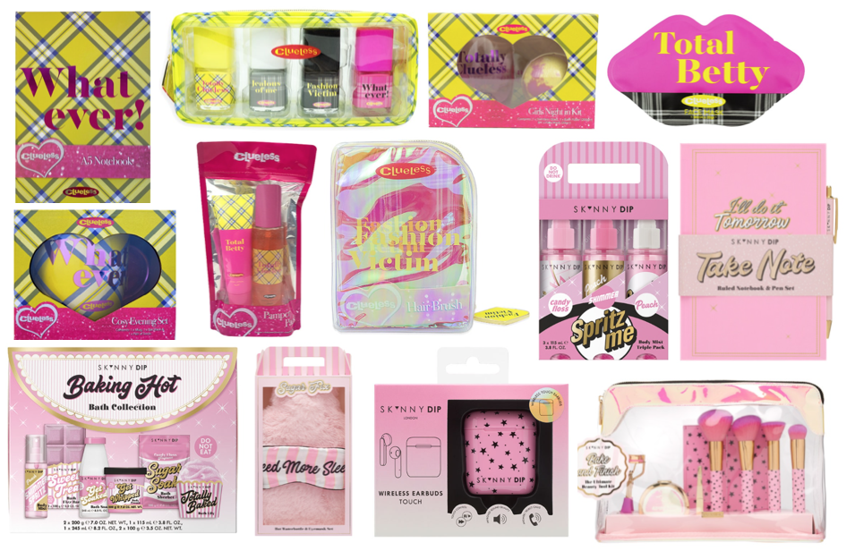 Skinnydip & Clueless Christmas 2020 Gift Sets at Superdrug