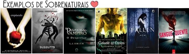 Livros Sobrenaturais