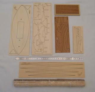 piezas del kit