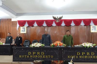 Inilah Tiga Nama Pimpinan DPRD Kota Mojokerto 2019 – 2024, Sunarto Terpilih Jadi Ketua Dewan