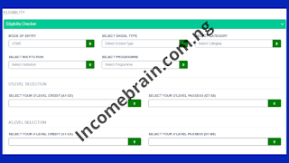 JAMB ibass Eligibility Check link