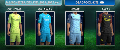PES 2013 Manchester City GDB 2016-2017 by DEADPOOL