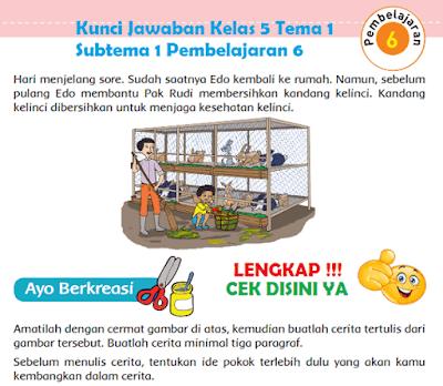 Kunci Jawaban Kelas 5 Tema 1 Subtema 1 Pembelajaran 6 www.simplenews.me
