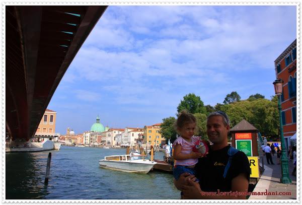 Vistas al Gran canal desde el puente de Calatrava
