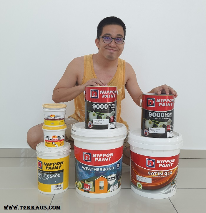 4 Different Nippon Paints For Our New Home