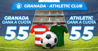 Paston Megacuota Copa Granada vs Athletic 5 marzo 2020