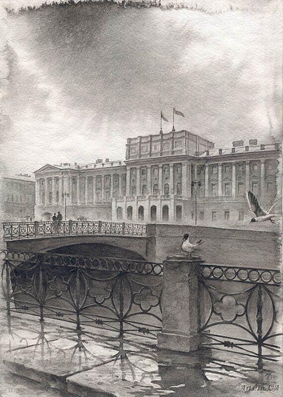 07-Mariinsky-Palace-and-Blue-Bridge-Ildyukov-Oleg-www-designstack-co