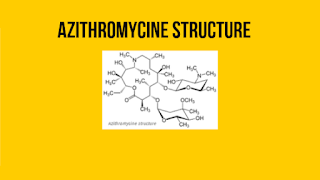 Azithromycin structure