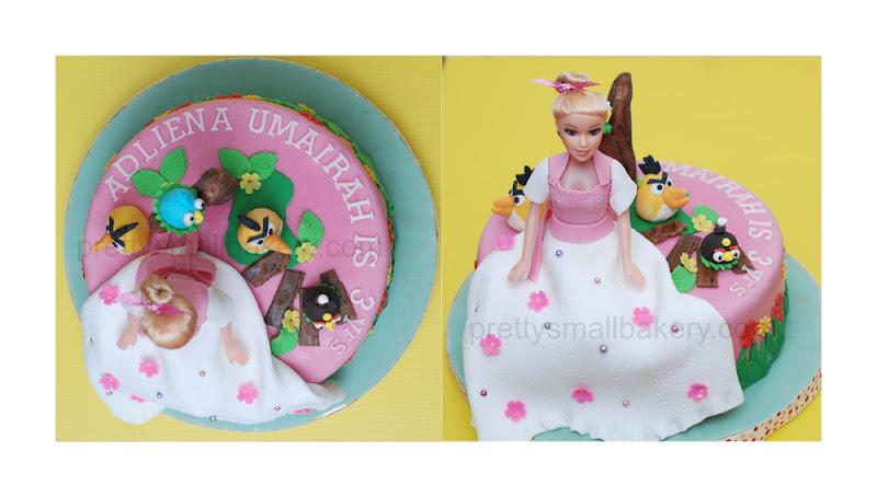 Kek Barbie Amp Angry Birds Bukit Jelutong Shah Alam