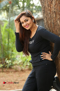 Actress Aswini Latest Stills in Black Denim Jeans  0151.JPG