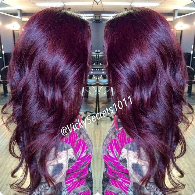 Violet Is The Hair Color The Haircut Web