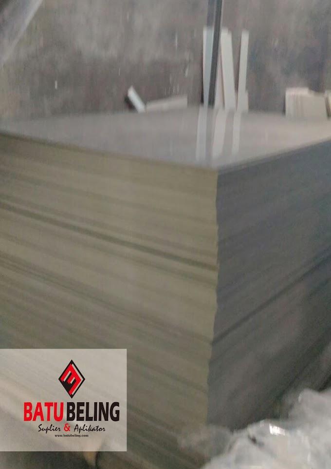 Karakteristik PVC Board