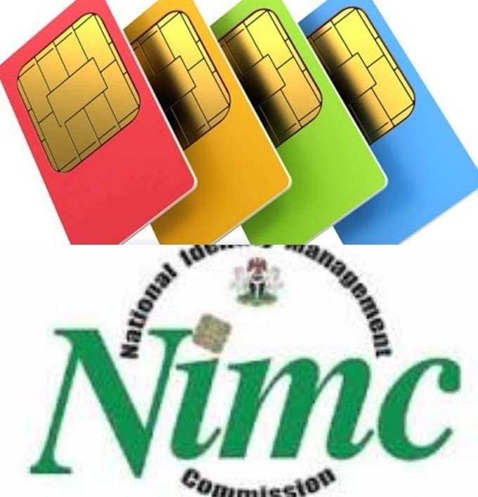 START LINKING YOUR NIN - NIMC TO YOUR SIM CARD | HOW TO LINK YOUR NIN TO YOUR SIMS CARDS WITHOUT STRESS