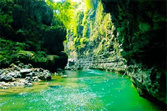 Gambar Grand Canyon di Pangandaran Jawa Barat