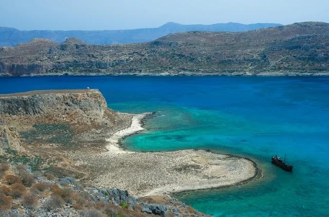 Το εντυπωσιακό ναυάγιο που κλέβει τις εντυπώσεις στην Κρήτη