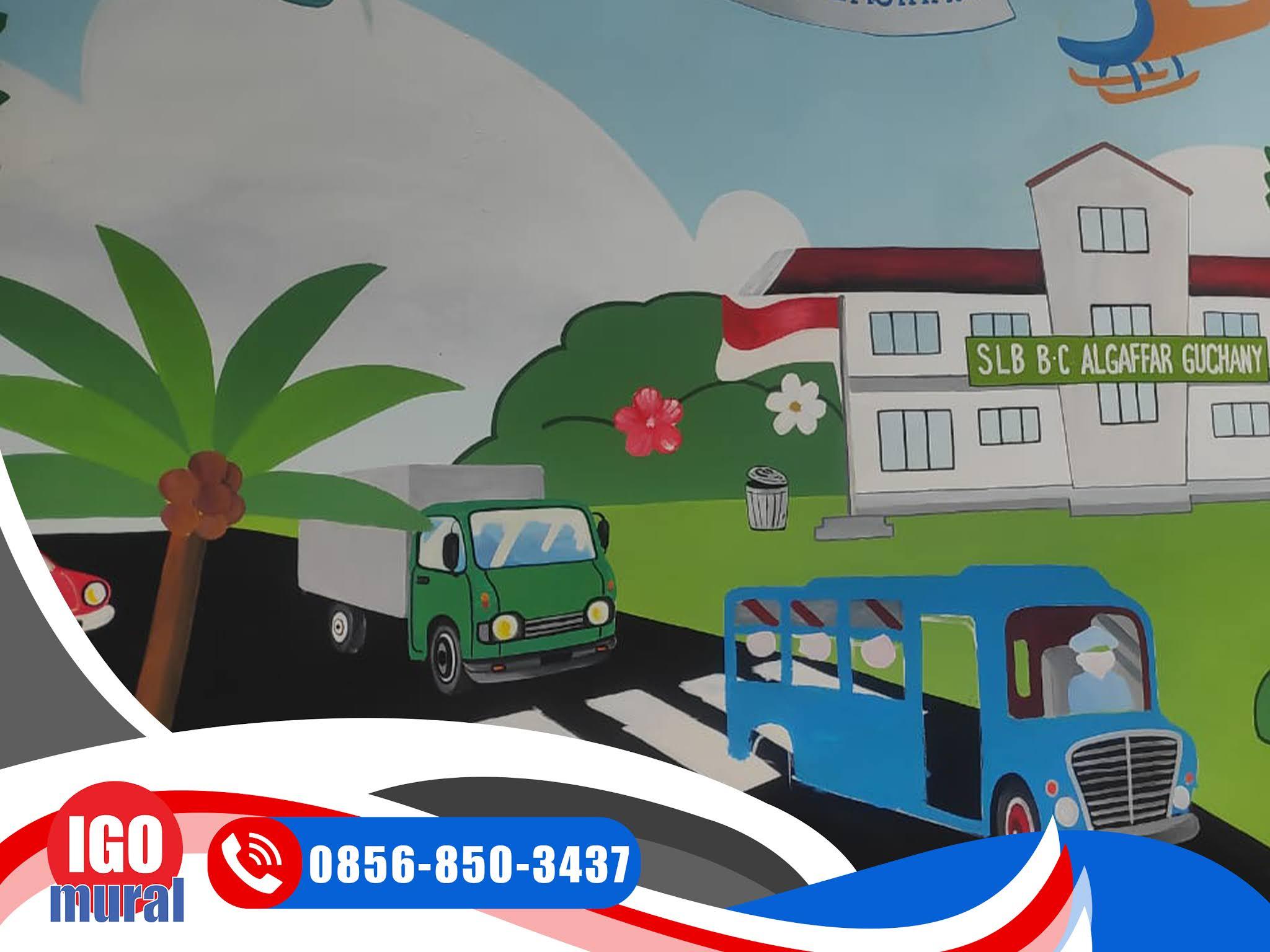 Lukisan Mural Jalan