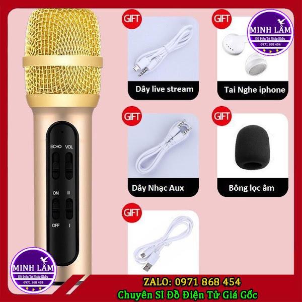 Micro hát Live Stream C11 Chuyên Nghiệp