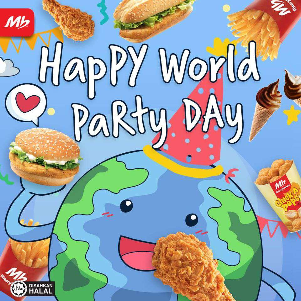 World Party Day Wishes For Facebook