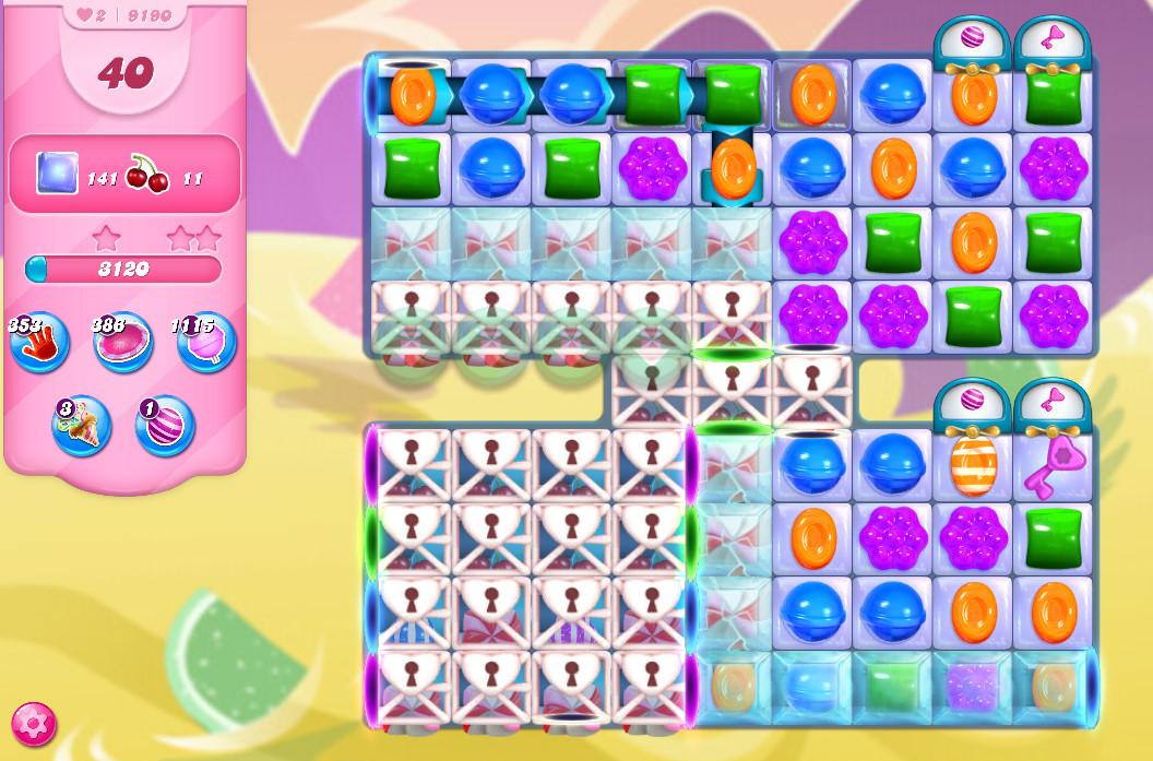 Candy Crush Saga level 9190
