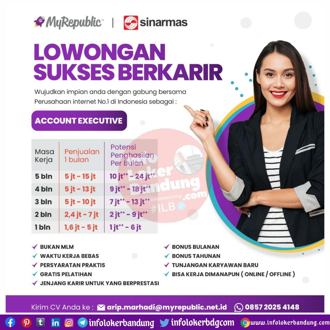 Lowongan Kerja My Republic Bandung November 2020