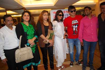 Amrita Rao & Vivek inaugurates free eye medical camp