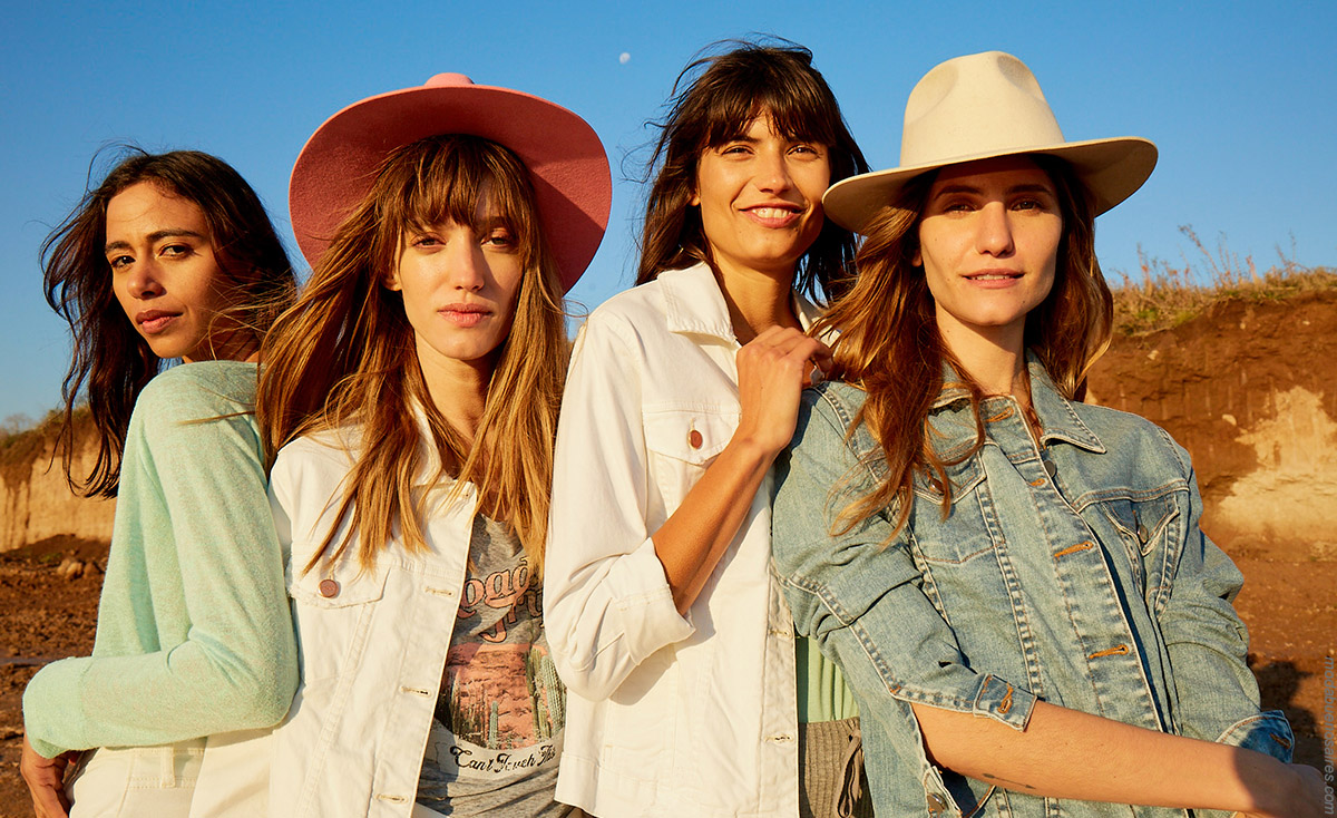 Moda primavera verano 2020. Camperas de jeans blancas primavera verano 2020. │Moda 2020.
