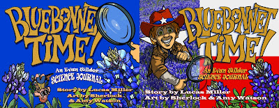 Bluebonnet Time book covers