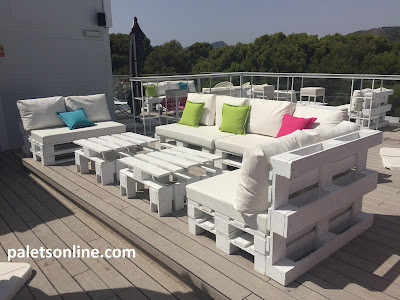 chill out europalets color blanco Paletsonline.com