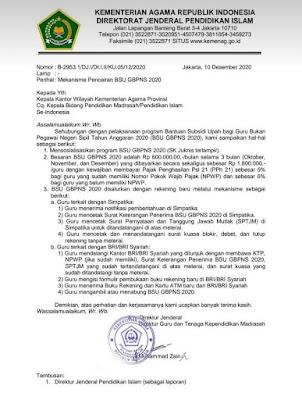 Alhamdulillah, Setelah Penantian Panjang, BSU Guru Honorer Kemenag Cair, Hanya Cair di Bank Ini dan Bawa 3 Surat Sakti Ini.