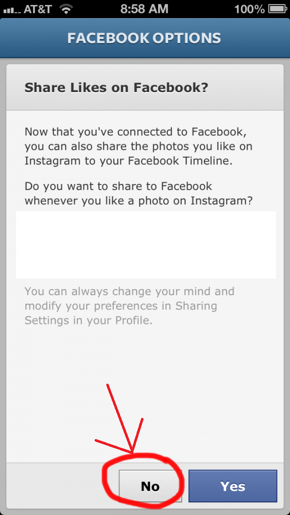 Sync Instagram To Facebook