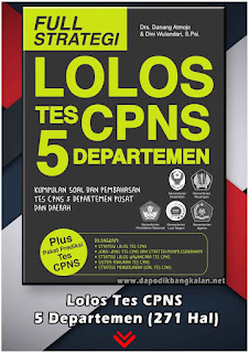 Lolos Tes CPNS 5 Departemen