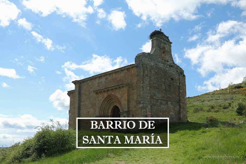 Románico palentino: Barrio de Santa María