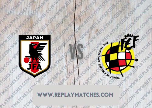 Japan U23 vs Spain U23 -Highlights 03 August 2021