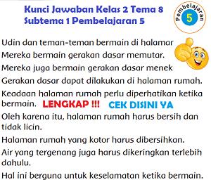 Kunci Jawaban Kelas 2 Tema 8 Subtema 1 Pembelajaran 5 www.simplenews.me