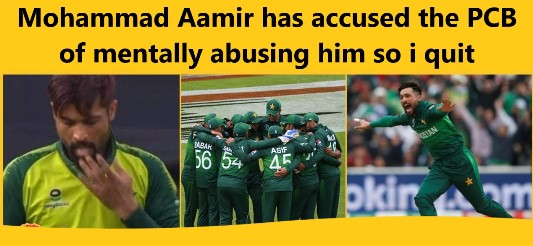 Mohammad Aamir has accused the PCB of mentally abusing him so i quit