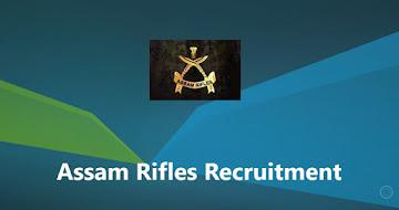 Assam Rifles Recruitment 2021 – 1230 Technical & Tradesman Vacancy
