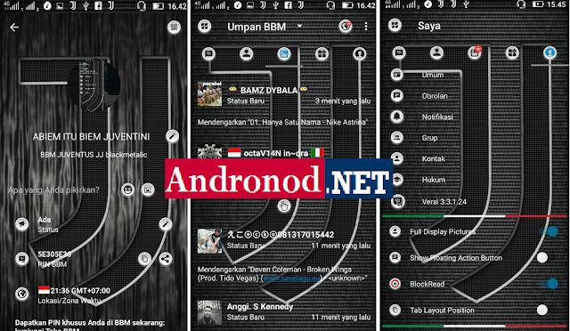 Download BBM Mod Juventus v3.3.1.24 Apk Clone Terbaru