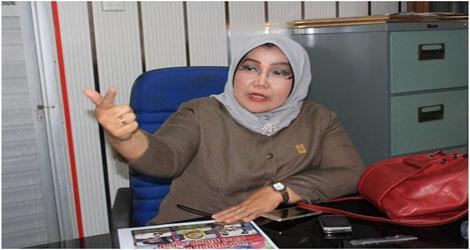 Elly Trisyanti Himbau Warga Padang Untuk Untuk Mengsukseskan Alek Politik Pada 27 Juni 2018