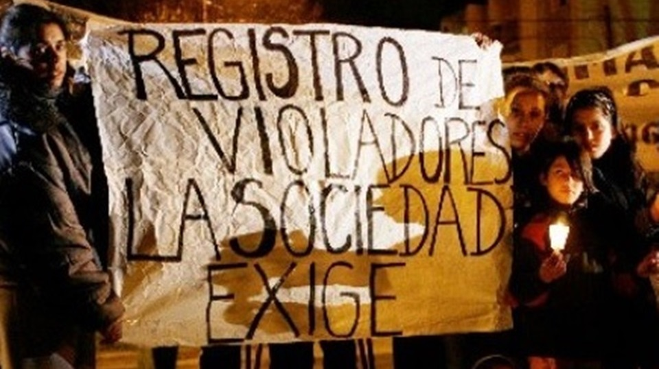 Registros sexuales y la injusticia