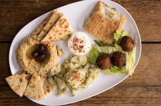traditional falafel dish