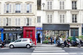 Paris : La plus petite maison de Paris, curieuse bâtisse au 39 rue du Château d'Eau - Xème