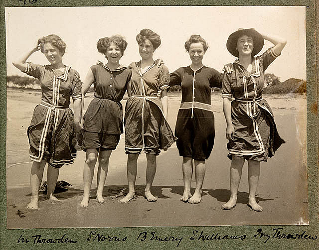 Baigneuses en 1908