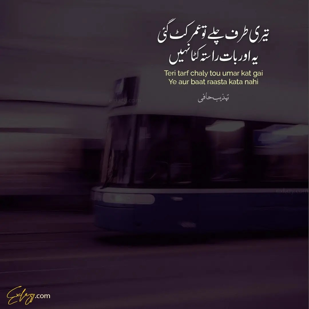 tehzeeb hafi poetry status for whatsapp