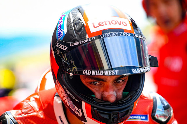 Danilo Petrucci vence pela primeira vez na MotoGP