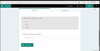 Panduan Microsoft Form 7