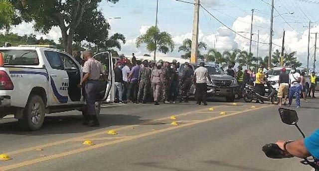 (VIDEO) Desconocidos matan hombre a tiros en Cotuí