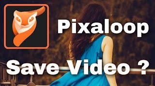Cara Menyimpan Foto dari Pixaloop