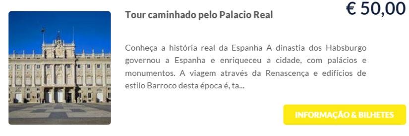 Madri - compre ingressos on-line para as atrações - Tour caminhando pelo Palácio Real - Ticketbar